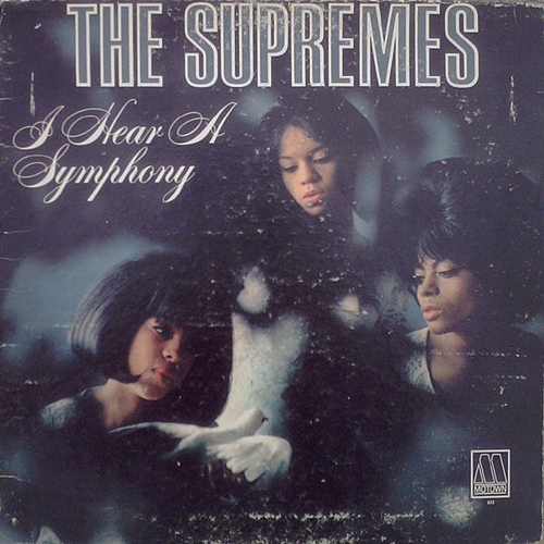 "The Supremes : Album "" I Hear A Symphony "" Motown Records MT 643 [ US ]"