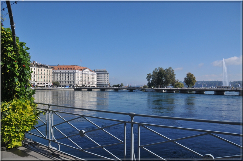 pont de la Machine à Genève