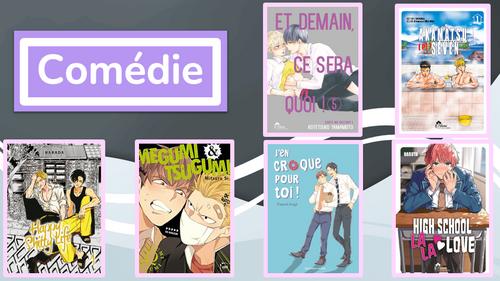 Découvrez les finalistes des 1ers BoysLove France Awards !