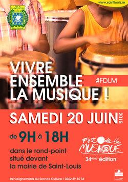 Quelques affiches & programmes Fête de la Musique 2015
