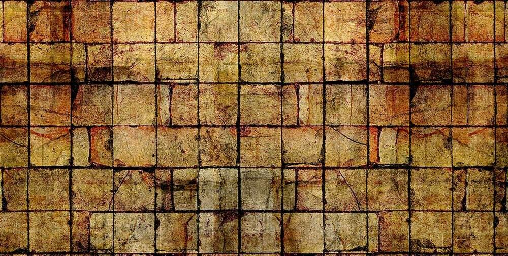 Grandes textures Grunge bois/briques