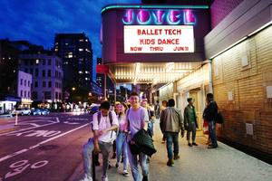 dance ballet eliot feld's joyce theater