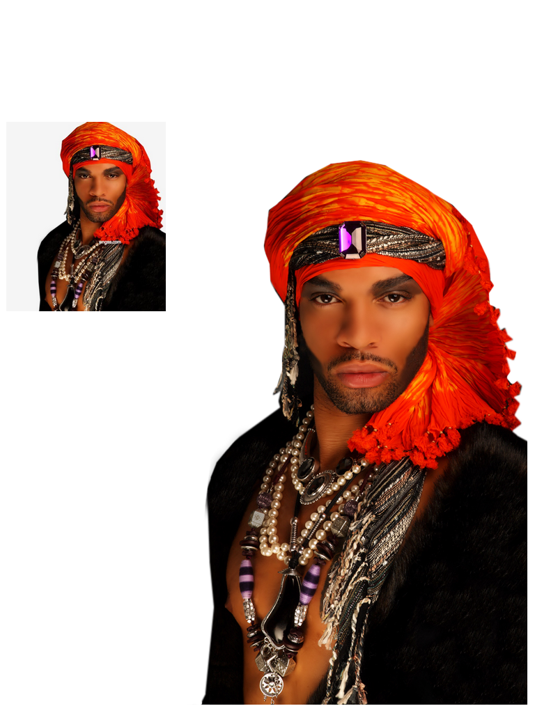 Tube homme png