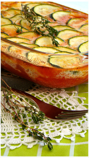 GRATIN PROVENÇAL AU THYM (Weight Watchers)