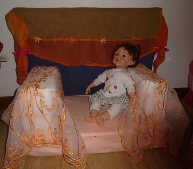 Un fauteuil pour les ptiotes poupées