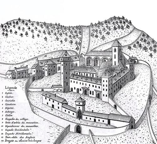 Le grand Almanach de la France : Les clochers de tourmente.