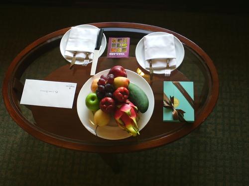 Shangri-la Bangkok, luxe, calme et volupté