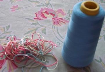Histoires de lin, Le fol abc d'été + Spéciale dédicace au Petit fil bleu (Karine)
