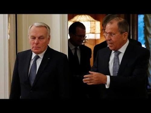Ayrault à Moscou: que l'on regrette la diplomatie française! par Karine Bechet-Golovko -7/10/16