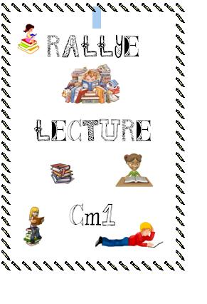Rallye lecture CM1
