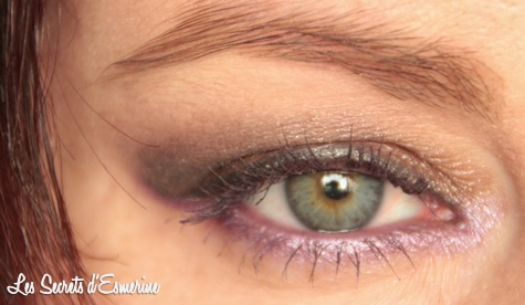 maquillage, makeup, violet, marron, kiko