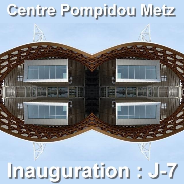 Inauguration du Centre Pompidou Metz mai 4 02 05 2010
