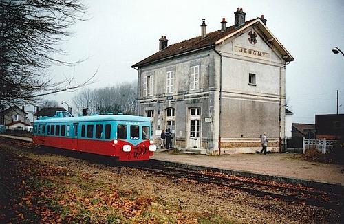 Souvenirs de la ligne Troyes St-Florentin (ligne 26).