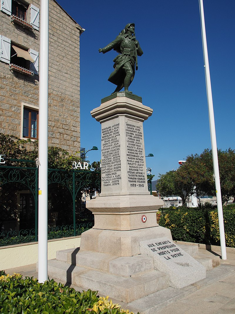 Propriano World War II memorial@20171015.jpg