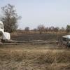 Bénin Parc de la Pendjari Iveco planté dans la boue mais le Toy est là