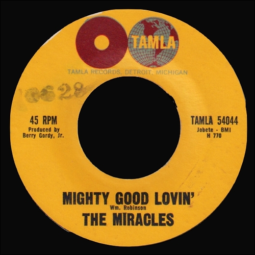 """The Miracles : Album """" Cookin' With The Miracles """" Tamla Records TM 223 [ US ]"""
