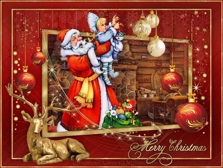 Santa Claus is coming soon