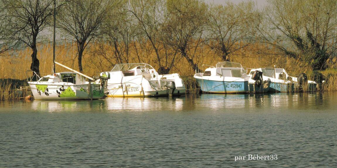 bateau en reflets