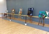 Exposition de la section peinture du SLC La Beholle