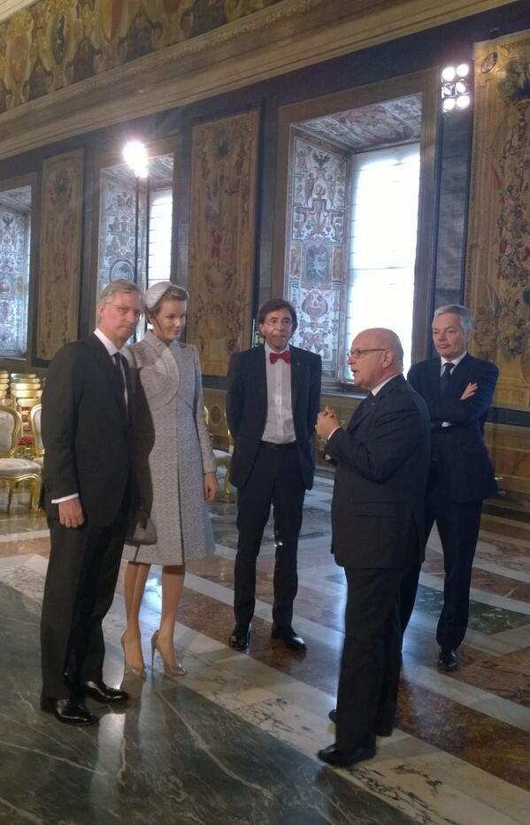 Mathilde et Philippe en Italie