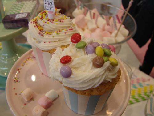 Cupcake smarties