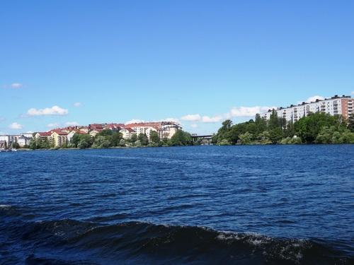 Autres vues de Stockholm en bâteau (photos)