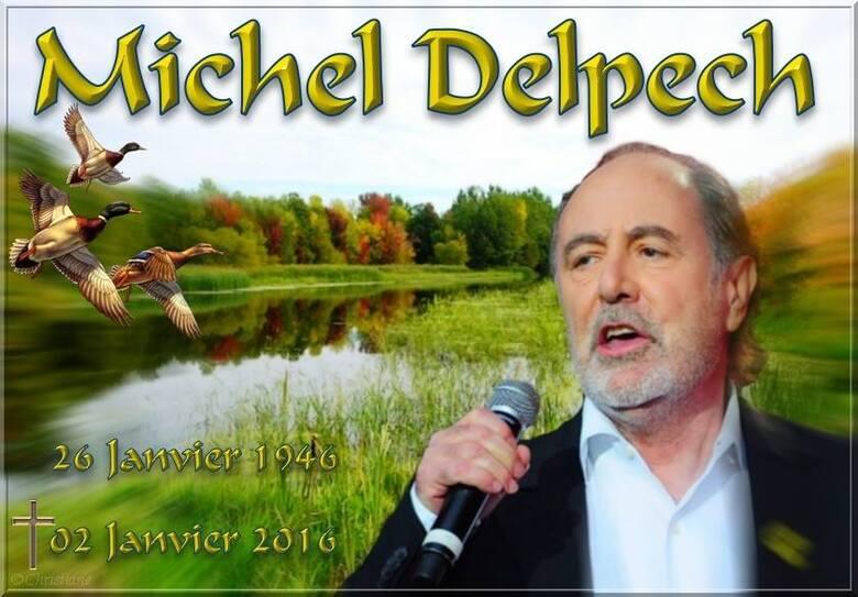 Hommage à Michel Delpech