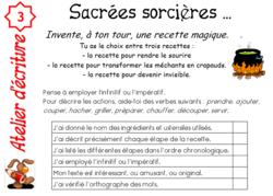 PROJET SORCIERES CYCLE 3