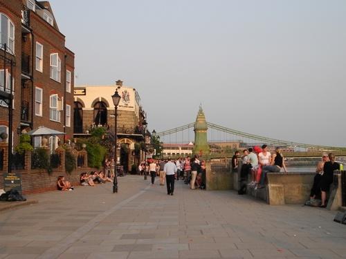 Hammersmith à Londres Ouest.