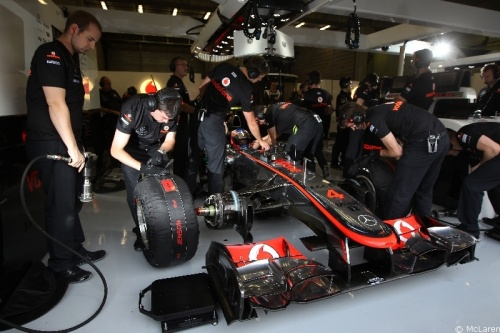 Button attend un signe de McLaren pour 2012 !