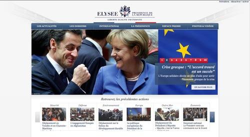 Copyright Reuters site Élysée
