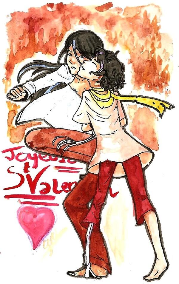 Saint Valentin Rod et Drakam