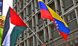 Premier acte de politique étrangère du gouvernement Maduro : défendre les droits du peuple palestinien.