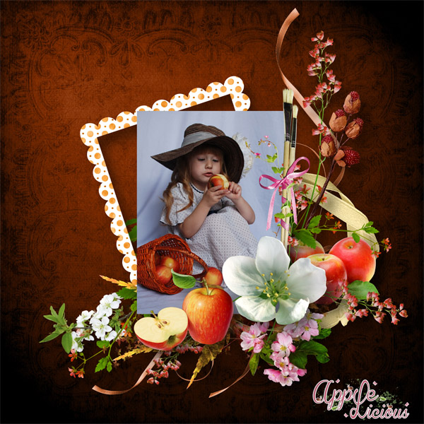 Applelicious de Scrap' Angie