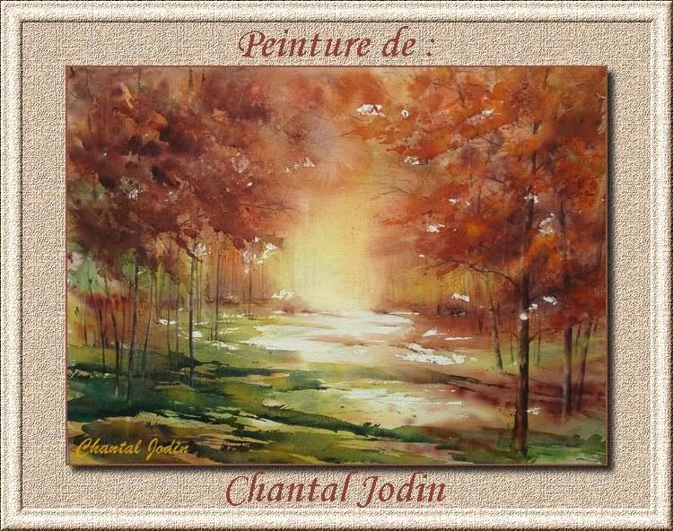 Peinture de : Chantal Jodin