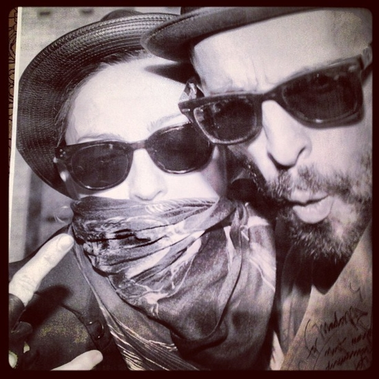 with my friend JR. ART Equals revolution! - 7 mars