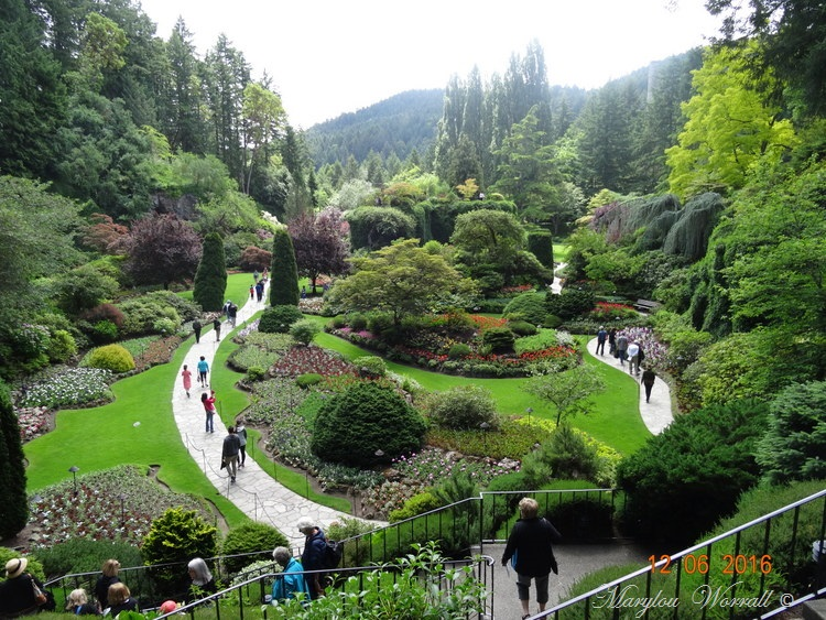 Nouvelles du Canada 106 : Butchart Gardens 2/3