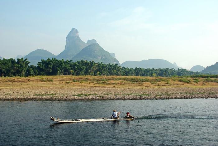 La rivière Li, de Guilin à Yangshuo