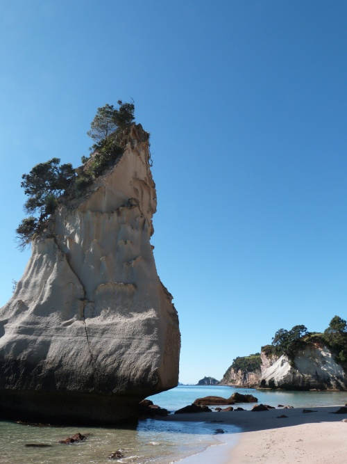 Cathedral Cove et Hot Water Beach