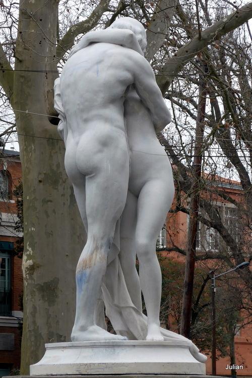 Toulouse : les statues décoratives (1)