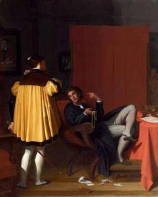 """histoire de l'art - Cycle XIXème : L'art troubadour ou """"anecdotique"""""""