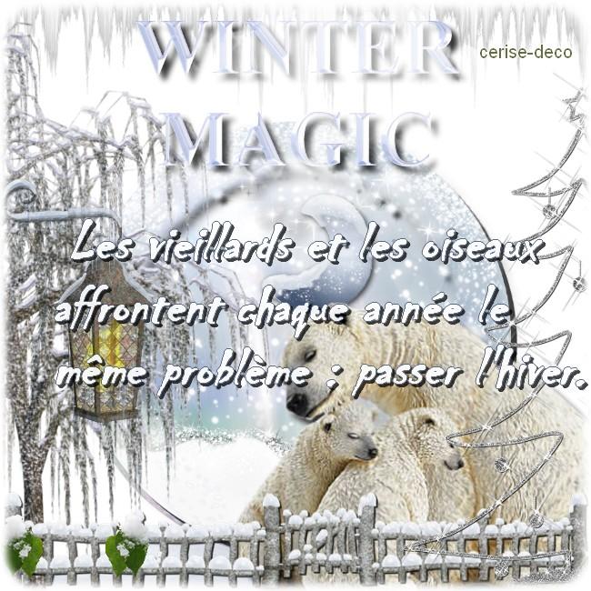 citation illustrée hiver