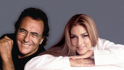 AL BANO &  ROMINA POWER - Resta Ancora (1996) (Chansons italiennes)