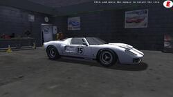 Ford GT 40 MK 1 roadster de 1965