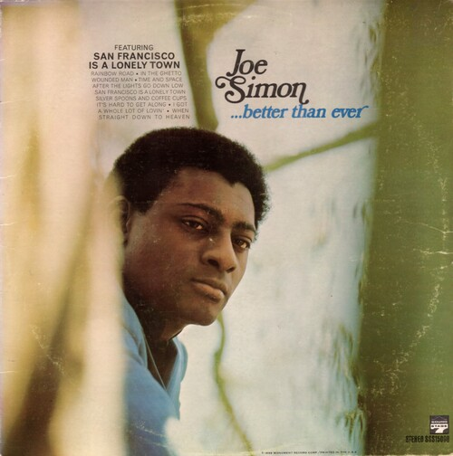 Joe Simon 1968 - Simon Sings LP Sound Stage 7 ‎Records SSS-15005 [ US ]