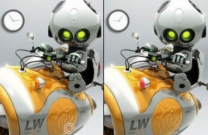Point and clic - Robots