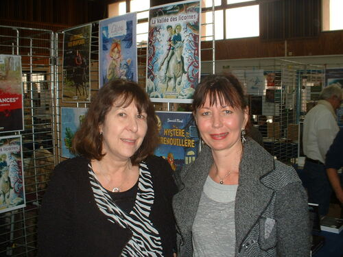 Salon du livre Somain, novembre 2015