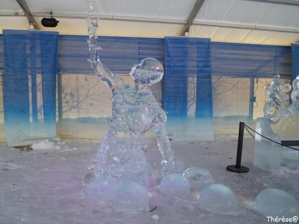 Ottawa sculpture sur glace Sens (1)
