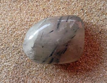 quartz tourmaline