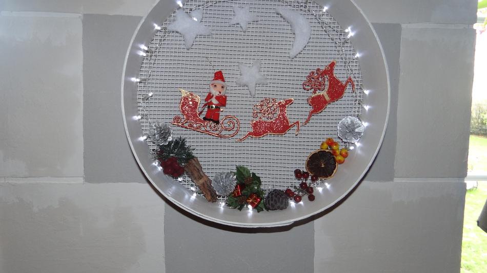 Un Tamis recyclé pour Noël